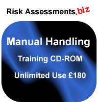 Manual Handling Training CD-ROM Unlimited Use £180 inclusive of VAT